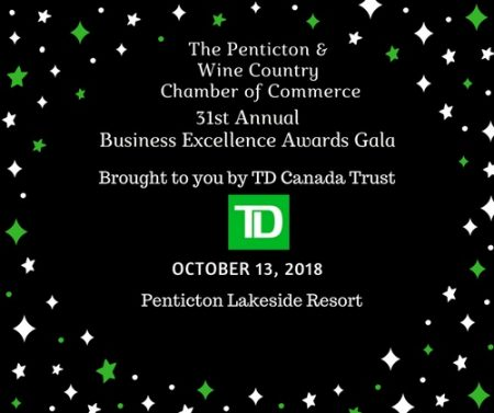 31st Annual Business Excellence Awards – presented by TD Canada Trust