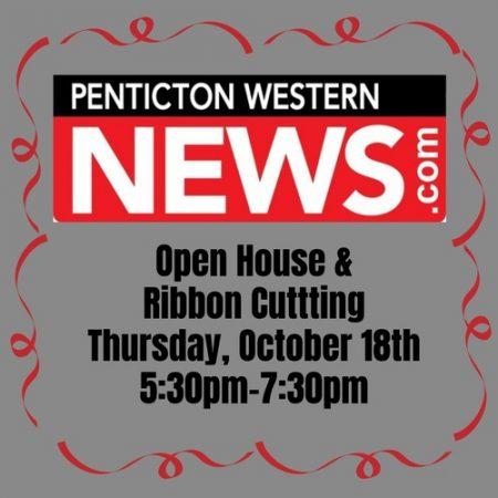 Penticton Western News – Ribbon Cutting & Open House